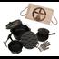 """The Windmill Cast Iron Set de batterie de cuisine en fonte """"The Windmill Cast Iron"""" pour barbecue"""