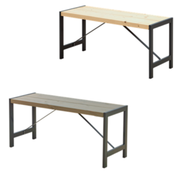 Bench Industrial style FUNKIS - PLUS