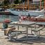 Plus Danemark Vierkante picknicktafel TWIST - 8 tot 12 personen - PLUS