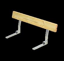 Rugleuning voor Picknickbank – 118cm met stalen beugels