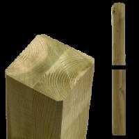 Geimpregneerde houten palen duplo verlijmd voor pergola