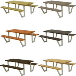 Picnic table WEGA - PLUS