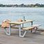 Plus Danemark Picnic table WEGA - 6 to 8 people - PLUS