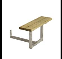 Bankje voor hoofdeinde Picknicktafel BASIC – 1 of 2 personen