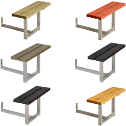 Extra Bench for Picnic Table BASIC - PLUS