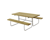 Picnic Table CLASSIC - 6 to 8 seats - PLUS