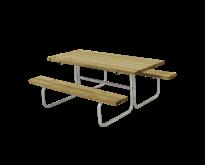 Table de pique-nique CLASSIC - 6 à 8 personnes - PLUS