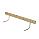 Rugleuning Picknicktafel CLASSIC - 177cm - 2 tot 3 personen