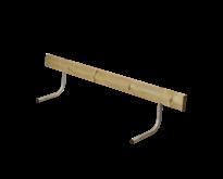 Rugleuning Picknicktafel CLASSIC - 177cm - 2 tot 3 personen - PLUS