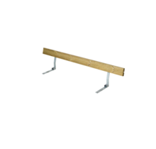 Backrest for Picnic Table - 177cm - 3 to 4 seats