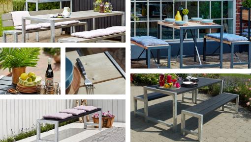 Design of een klassieke tuintafel : uw tuintafel is het hart van uw terras!