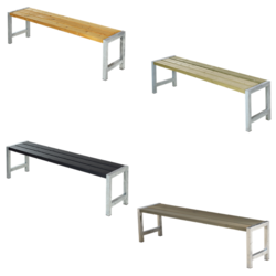 Bench for table PLANKEN - PLUS