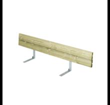 Rugleuning voor Bank PLANKEN - 166cm - 3 tot 4 personen