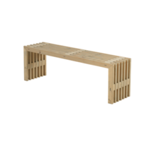 Decoratieve bank voor binnen en buiten - 138x36x45cm