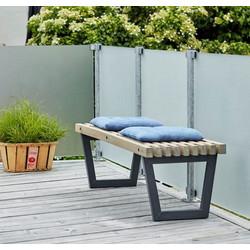Table - banc de salon de jardin SIESTA