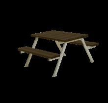 Table de pique-nique ALPHA- 118cm - 4 à 6 personnes