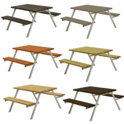 Table de pique-nique ALPHA - 118cm - PLUS