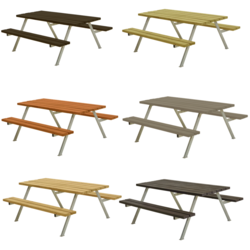 Picnic Table ALPHA - 177cm - PLUS