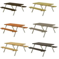 Table de pique-nique ALPHA - 177cm - PLUS