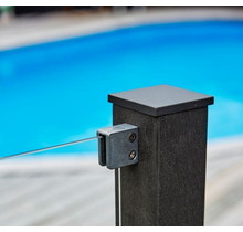 WPC (wood-plastic-composite) pole for self-assembly