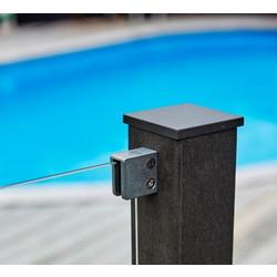 WPC (wood-plastic-composite) pole