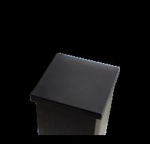 Capuchon de poteau en WPC (bois composite) - 9x9cm