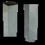 Plus Danemark Paal vierkant 8x8cm om in beton te gieten - staal