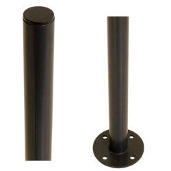 Steel Pole with base - round - 96cm