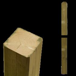 Wooden post - 7x7cm