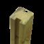 Plus Danemark Tuinpaal met 2 H groeven - 268x9x9cm - tussenstuk - massief hout