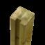 Plus Danemark Tuinpaal met groef - 268x9x9cm - eind - verlijmd hout