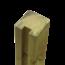 Plus Danemark Tuinpaal met groef - 268x9x9cm - eind - hout