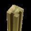 Plus Danemark Profielpaal - Sleufpaal - 268x9x9cm - hoek - verlijmd hout