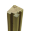 Plus Danemark Profile Pole - Slot Pole - 268x9x9cm - angle - wood
