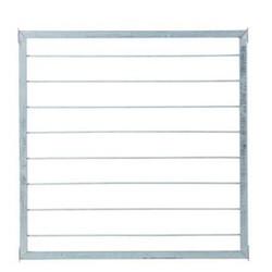 Panneau pour garde corps en acier à barreaux 90x90cm