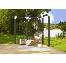 Glazen Tuinscherm - gehard glas 6mm - mat of helder - 90x180cm