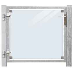 Portillon vitré 115x91cm à sceller