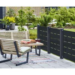 FUTURA DEKO Steel garden screen