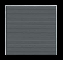 ARTURA Brise vue bois composite - 180x175cm