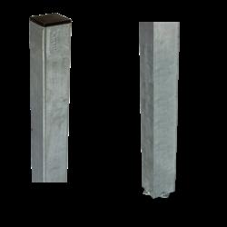 Paal vierkant 45x45x1860mm - beton gieten - staal