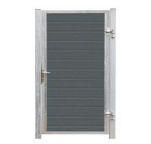 HKC Deur Enkel - stalen frame met slot en palen - 115x175cm - ARTURA