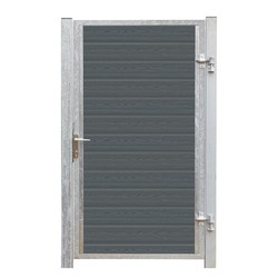 WPC Single Gate 115x175cm - ARTURA