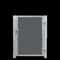 Portillon en bois composite à sceller 115x135cm - ARTURA