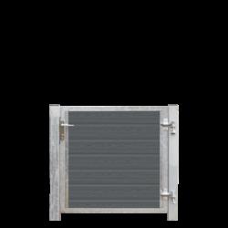WPC Single garden gate 115x95cm - ARTURA