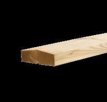 KLINK Houten afdekplank voor schutting 200cm