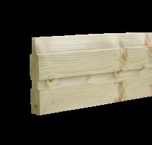 PLANK Houten plank voor schutting - 177cm
