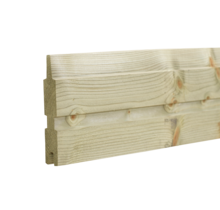 PLANK Planche en bois autoclave pour clôture de jardin - 177cm