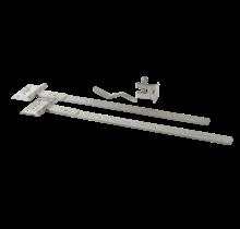 Ferrure de porte pour la porte basse simple - acier galvanisé à chaud
