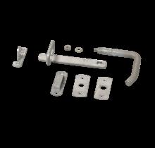 Deurkruk - 16cm - thermisch verzinkt staal