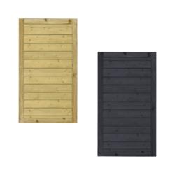 KLINK Portillon de jardin en bois 100x163cm